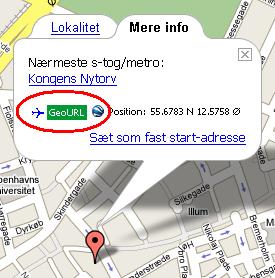 GeoURL på findvej.dk