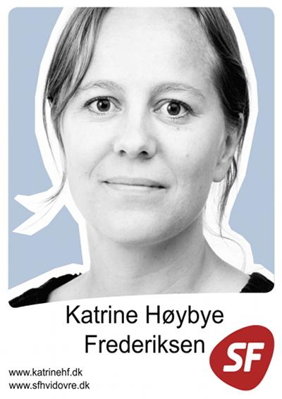 Katrine Høybye Frederiksen, Kandidat til kommunalbestyrelsen for SF i Hvidovre Kommune