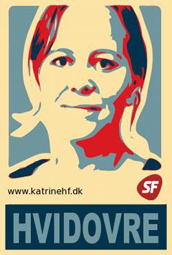 Katrine Høybye Frederiksen, Medlem af kommunalbestyrelsen for SF i Hvidovre Kommune
